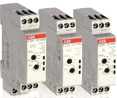 Abb Electronic Timer Relays E234 Ct Erd