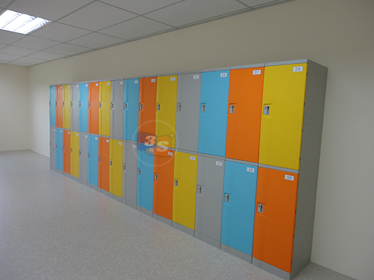 Abs Plastic Locker Suitable For Many Industries