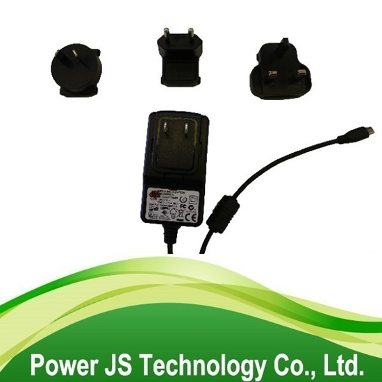 Ac Dc Adaptor 5v 12v 24v Interchangeable Plug Power Adapter