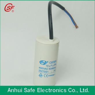 Ac Motor Apacitor For Washine Machine Use