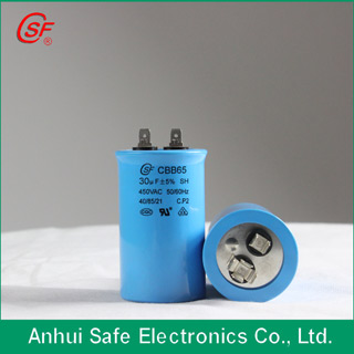 Ac Motor Running Capacitor Cbb65 High Voltage With Iaf
