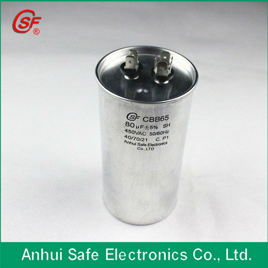 Ac Motor Start Capacitor Cbb65 For Air Conditioner