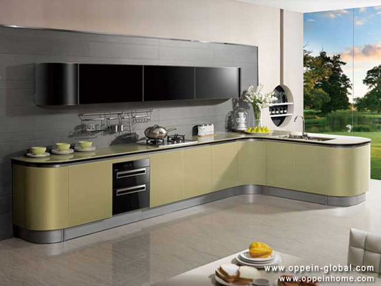 Acrylic Kitchen Cabinet Op13 076
