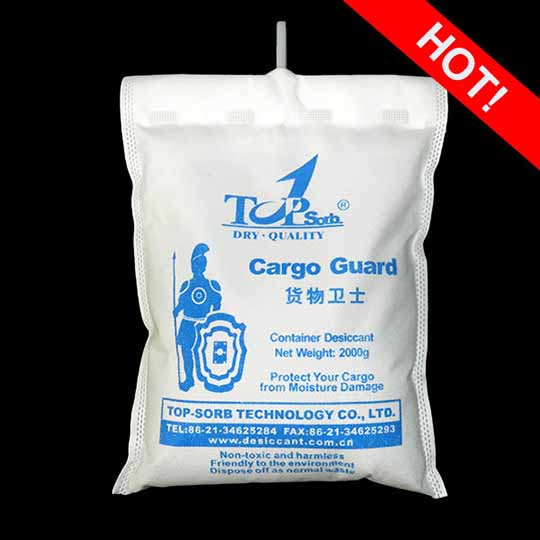 Activated Desiccant Bags Cargo Guard 2000 Container Clay