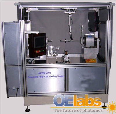 Acws 200b Fiber Coil Winding Station From Oelabs