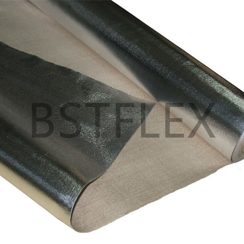 Adhesive Backed Aluminum Coated Fiberglass Fabric