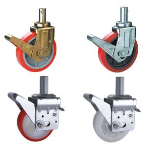 Adjustable Scaffolding Caster Wheels