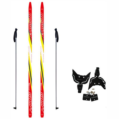 Adults Cross Country Skis Set