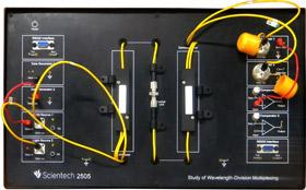 Advance Fiber Optics Lab Scientech 2505