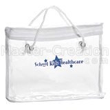 Advertise Bag Promotional Quilt Pvc Clear Handbag Large