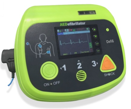 Aed Defibrillator With Biphasic And Ecg Monitor Defi 6