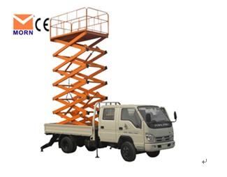 Aerial Work Tale Vehicle Scissor Lift