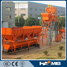 Africa Widely Used Hzs35 Commercial Concrete Mixing Plant