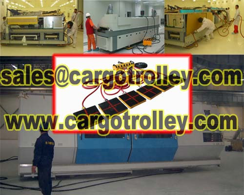 Air Bearing Transporters Works On Clean Rooms