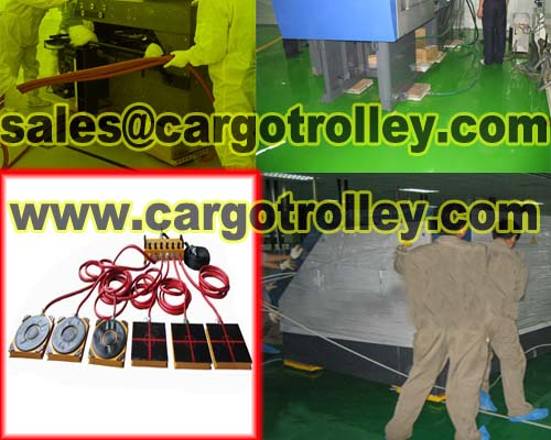 Air Bearings Mover Moving Heavy Duty Machinery Easily