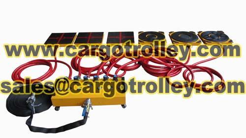 Air Bearings Transporters Application
