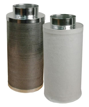 Air Carbon Filter For Hydroponics Cleaning