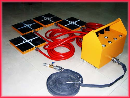 Air Dolly For Moving Precise Equipment