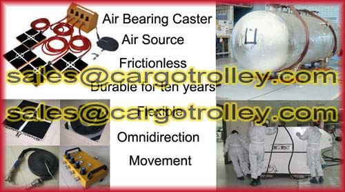 Air Powered Moving Casters Instruction