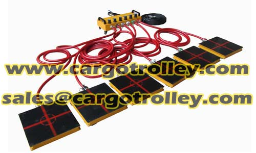 Air Rigging Systems Moving Heavy Duty Equipment Easliy