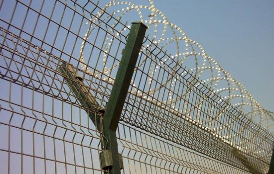 Airport Fence Razor Barbed Wire