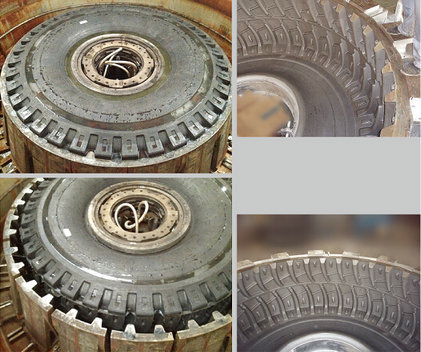 All Steel Giant Engineering Tire Segment Mold