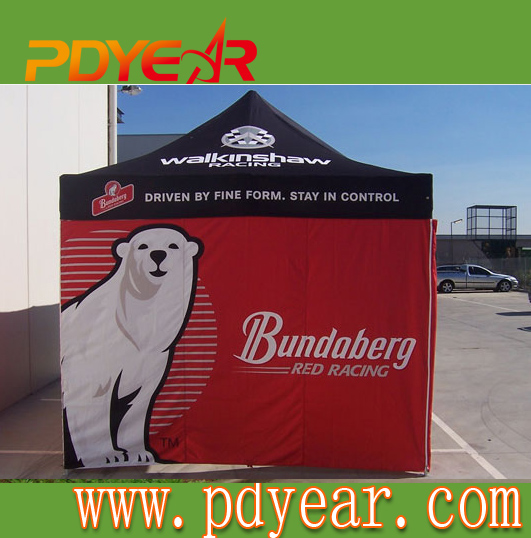 Aluminium Folding Tent With Dye Sublimation Printing