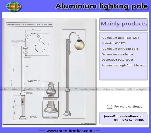 Aluminium Pole Produce According To Customers Requirements