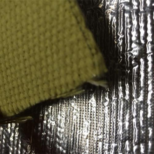 Aluminized Kevlar Fiber Fabric