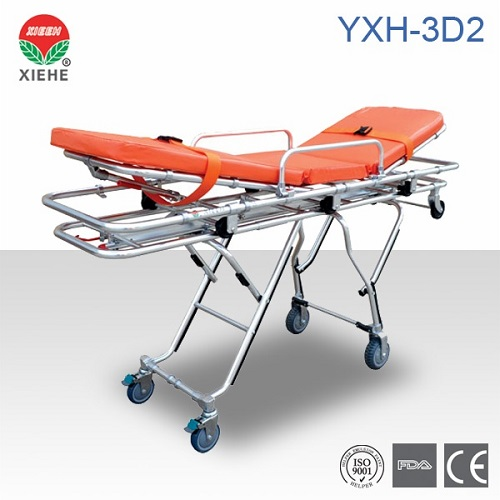 Aluminum Alloy Ambulance Stretcher Yxh 3d2