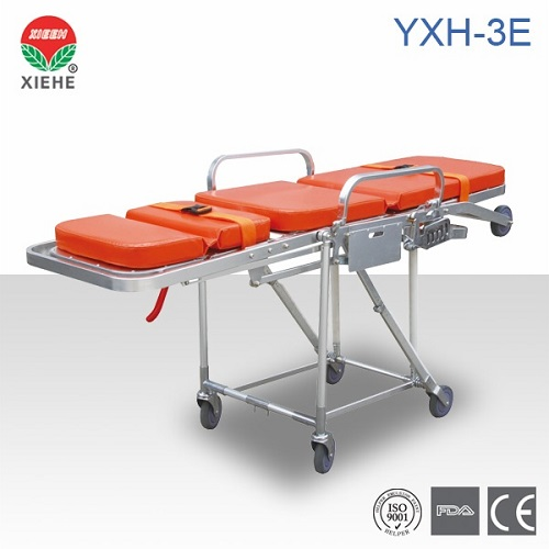 Aluminum Alloy Ambulance Stretcher Yxh 3e