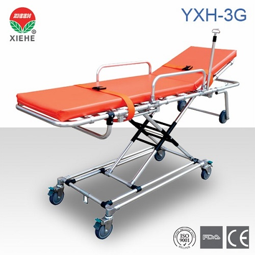 Aluminum Alloy Ambulance Stretcher Yxh 3g