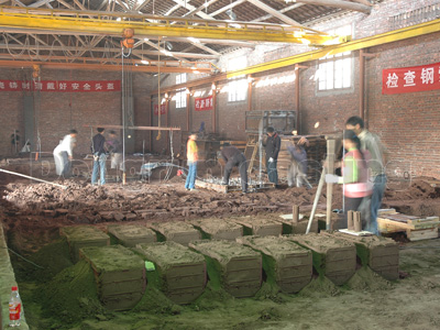 Aluminum Foundry There Are Five Large Scale Sand Casting Product Lines