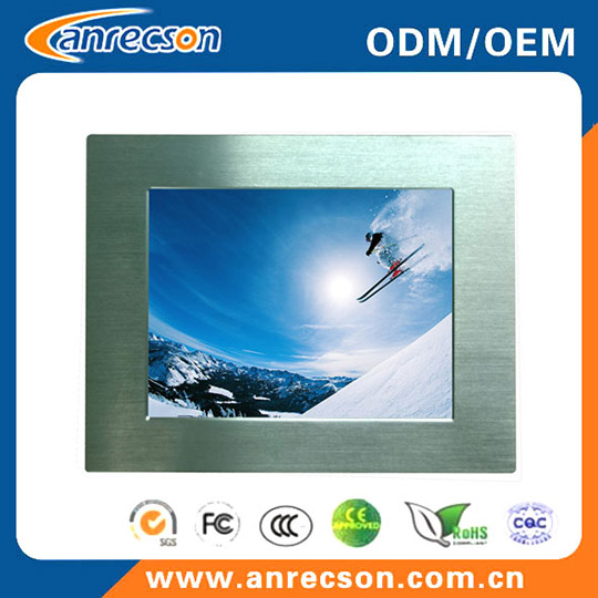 Aluminum Front Bezel 15 Inch 1000nits Industrial Touch Panel Pc