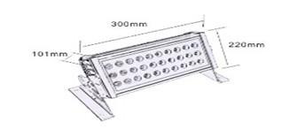 Aluminum Led Housing Form Q J