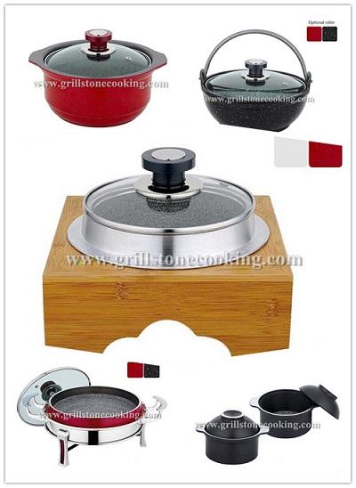 Aluminum Stone Cookware Cooking Pot
