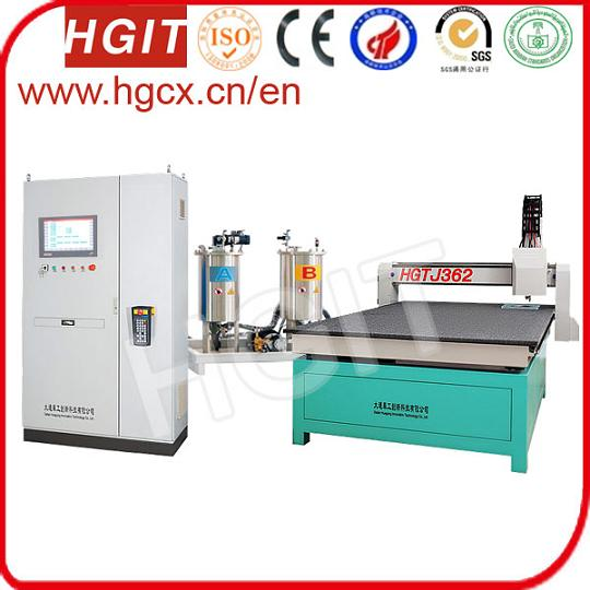Aluminum Thermal Barrier Potting Machine