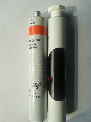 Aluminum Tubes For Cosmetics Pharmaceuticals Or Art Paints