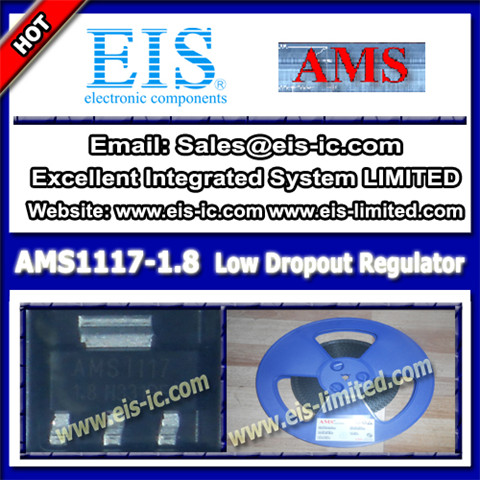 Ams1117 1 8 Ams Voltage Regulator Ic Sot 223