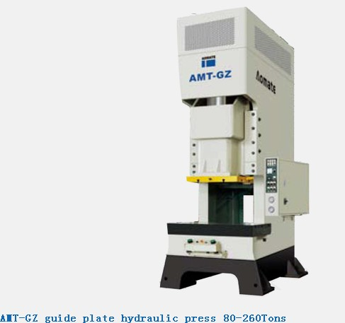 Amt Gz Guide Plate Hydraulic Press 80 260tons