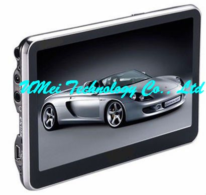 Android Car Gps With 5 Tft Screen Wi Fi Fm Transmitter