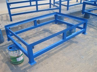 Angle Or U Shaped Steel Surface Plate Stand
