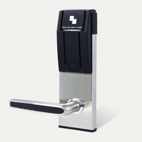 Anlok 0929 Ce Approved Swipe Card Lock For Hotel