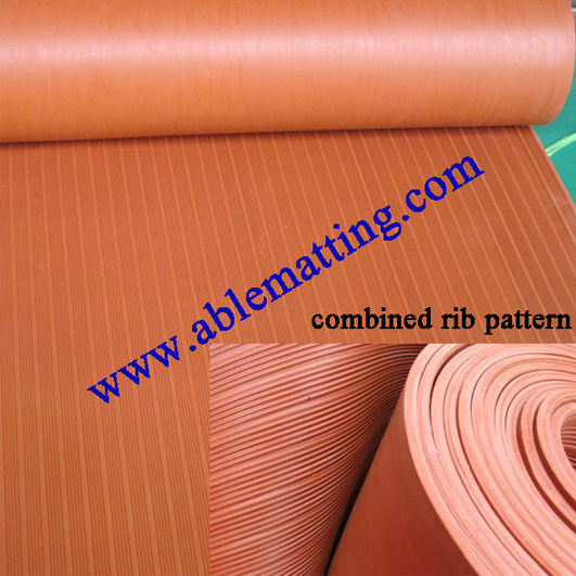 Anti Slip Runner Matting Roll Mat Ribbed Pattern
