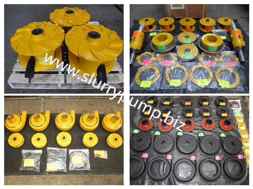 Anti Wear Slurry Pump Spares