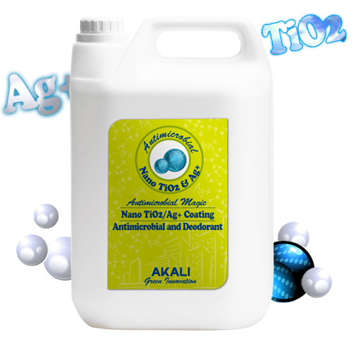 Antimicrobial And Deodorant Coating Nano Tio2 Ag Agent