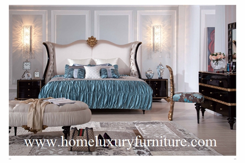 Antique Bedroom Furniture Sets Kingbed Solid Wood Bed Classic Ta 001