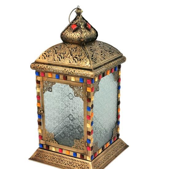 Antique Brass Dorchester Lantern