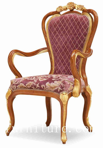 Antique Chairs Dining Popular In Russia Fabric Chair Room Furniture Fy 128