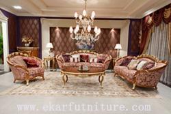 Antique Sofa Sets Living Room Fabric Ff 128